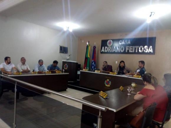Sessão Ordinária realizada no dia 14/11/2018