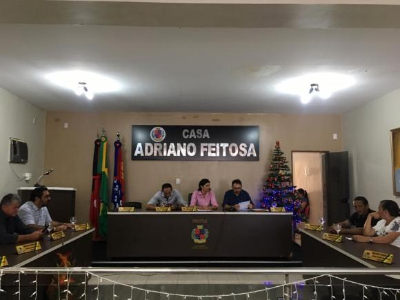 SESSÃO EXTRAORDINÁRIA 31 DE DEZEMBRO DE 2018.