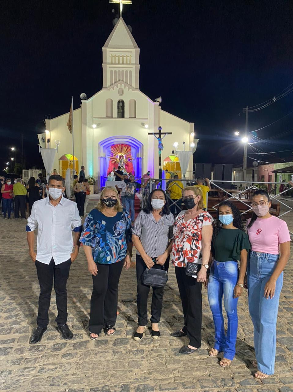 83ª Festa da Padroeira do Distrito de Lagoa da Cruz.